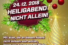 Bei Micha's Weihnachtsplakat DinA4